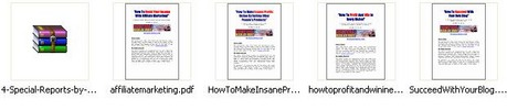 Thumbnail *new* 4 Special Reports with Master Resale Rights