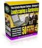 Thumbnail *new* 50 Landscaping Gardening Private Label Articles  PLR