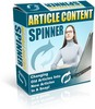 Thumbnail *new* Article Content Spinner Software with RR