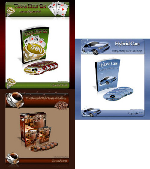 Product picture *new* 4 Mini Site Graphics Pack with MRR (Value : $497)