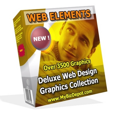 Product picture Web Graphics Gallery - 3500 Attention Grabbing Graphics MRR