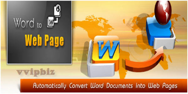 Product picture *new* Word2Webpage Software with MRR (Value: $147)