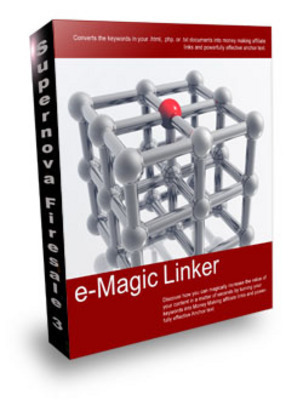 Product picture *new* e-Magic Linker Software with MRR (Value: $147)