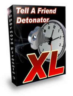 Product picture *new* Tell A Friend Detonator with MRR (Value : $167)