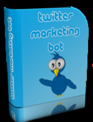 Product picture Twitter Marketing Bot with PLR *must buy*
