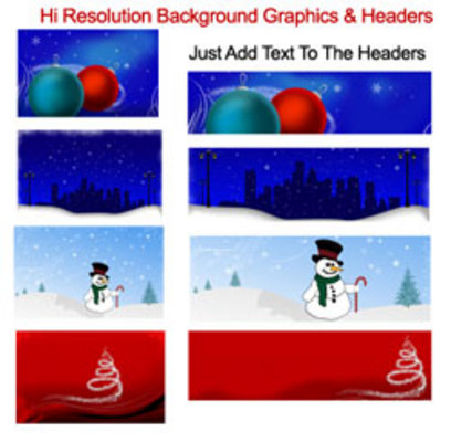 Product picture Holiday Clipart Collection with MRR