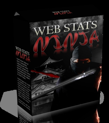 Product picture *must have*Web Stats Ninja Software with MRR