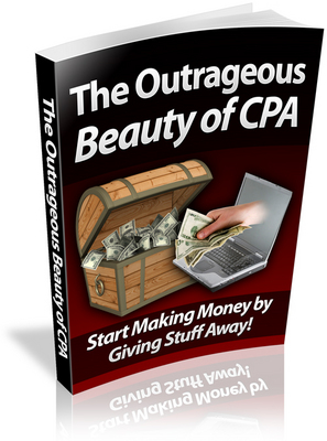 Product picture *must have*The Outrageous Beauty of CPA with PLR