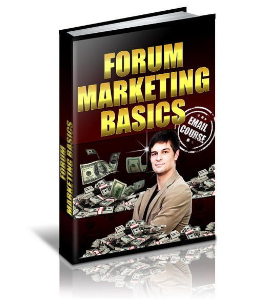 Product picture Forum Marketing Basics with MRR