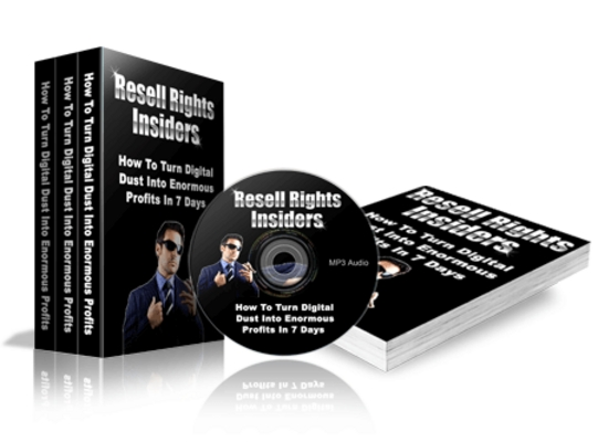 Product picture *new* Resale Right Insider with PLR