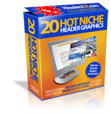 Product picture *new* 20 Hot Niche Headers with MRR