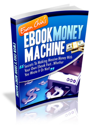 Product picture *new* Ewen Chia Ebook Money Machine with MRR