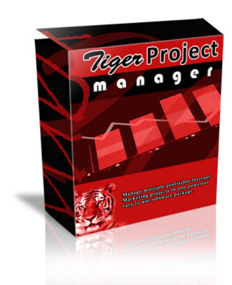 Product picture *new* Tiger Project Manager Software with MRR