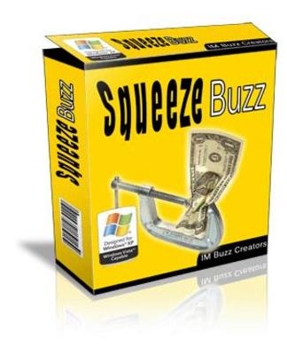 Product picture *new* Squeeze Page Software with MRR
